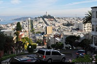 Photo by elki | San Francisco  san francisco, lombard street
