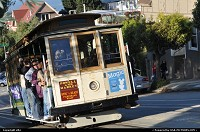 Photo by elki | San Francisco  san fransisco california cable car
