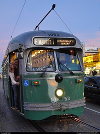 San Francisco : fishermanwharf, streetcar