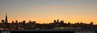 coucher de soleil sur san francisco