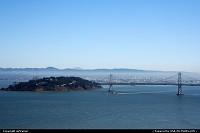 The Bay Bridge.
