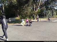 , San Francisco, CA, Bay to breakers, improvised animations along the route