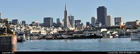San Francisco : fishermanwharf, skyline of san francisco