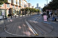 San Francisco : cable car direction switch