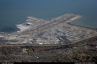 Overview of SFO international airport