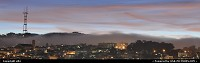 Photo by elki | San Francisco  san francisco, sunset, mist, fog