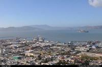 overview from the coit tower