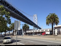 , San Francisco, CA, San Francisco again and again and yet another time. By Bay Bridge, maybe not as iconic as the Golden Gate is, still a marvellous monument of engineering and a architectural master piece.