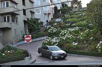 Photo by elki | San Francisco  lombard street old car