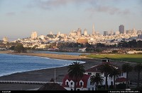 San Francisco : Overview of downtown, piers and golden gate park, San Francisco
