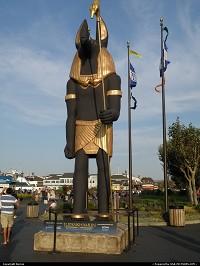 Tutankhamun at the Fisherman's wharf