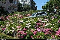 The more tortuous, plus very flowery, lombard street