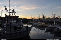 San Francisco : sun set on fishermanwharf