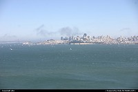 San francisco from the golden gate