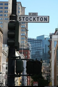 Photo by airtrainer | San Francisco  stockton street