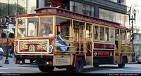many sightseeing tours can be found in San Francisco, including a ride on this funny bus...