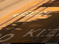 Les rails du Cable Car, sorte de tram local, tres typique. A voir et à essayer!