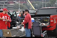 Tailgating before the niners' game on sunday 12 december. This was my first football experience and it was so great. I recommend you to go seeing.