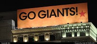Yes go giants, world series. They did the break, next step in texas
