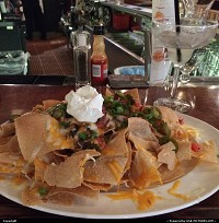, San Francisco, CA, Nachos and margarita, that's good grub !!