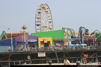 Santa Monica : Theme Park at the beach
