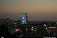 Sunset at the Pier, Santa Monica Beach and the famous carnival. California Dreamin!