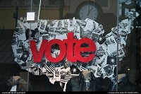 Vote! That the message that this famous brand store want to spread. It's up to you, now!