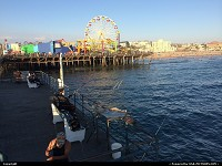 Photo by elki | Santa Monica  Santa Monica Pier