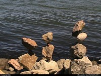 Photo by elki | Sausalito  balanced rock