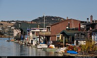 House boats in Sausalito, such a great place in the Bay Area ...