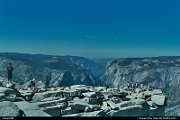 Photo by WestCoastSpirit |  Yosemite nps, yosemite, half dome, extreme hike, trail