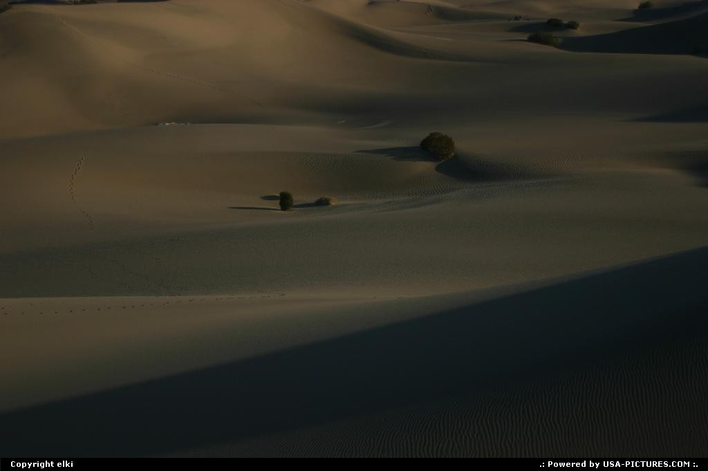 Picture by elki:CaliforniaDeath ValleySand Dunes