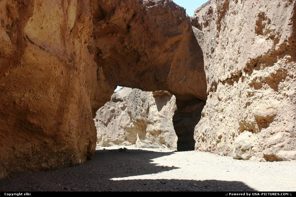Picture by elki:  California Death Valley Natural Bridge natural bridge Death Valley