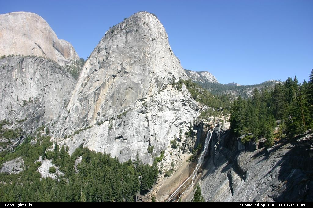 Picture by elki:  California Yosemite  hike, hiking