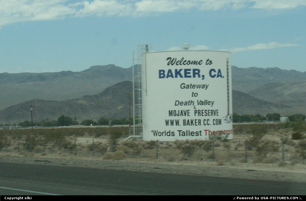 Picture by elki:BakerCaliforniabaker