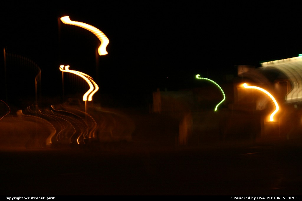 Picture by WestCoastSpirit: Barstow California   night, urban, effect