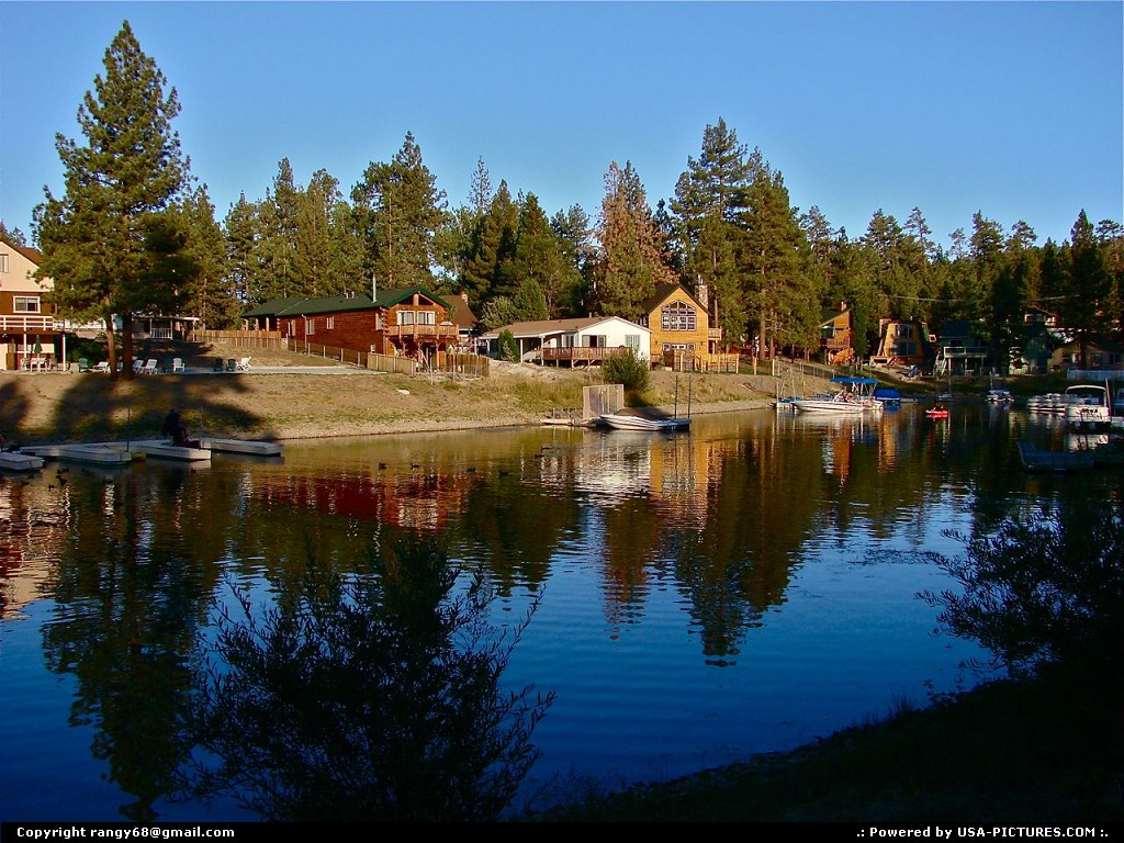 Usa pictures photos big bear lake california for Big bear cabins california