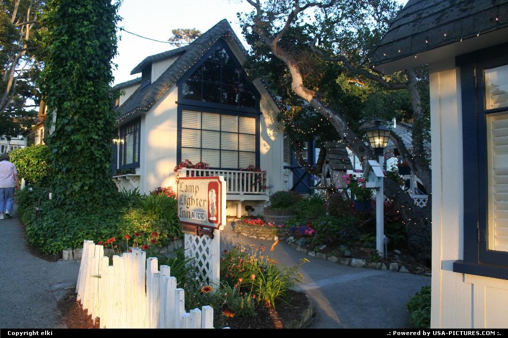 Picture by elki: Carmel California   carmel cottage