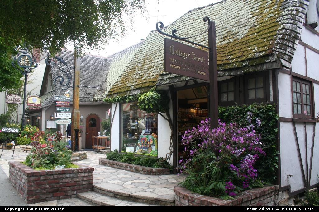 Picture by elki: Carmel California   carmel by the sea cottage