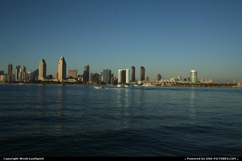 Picture by WestCoastSpirit: Coronado California   bay, skyline, convention, meeting