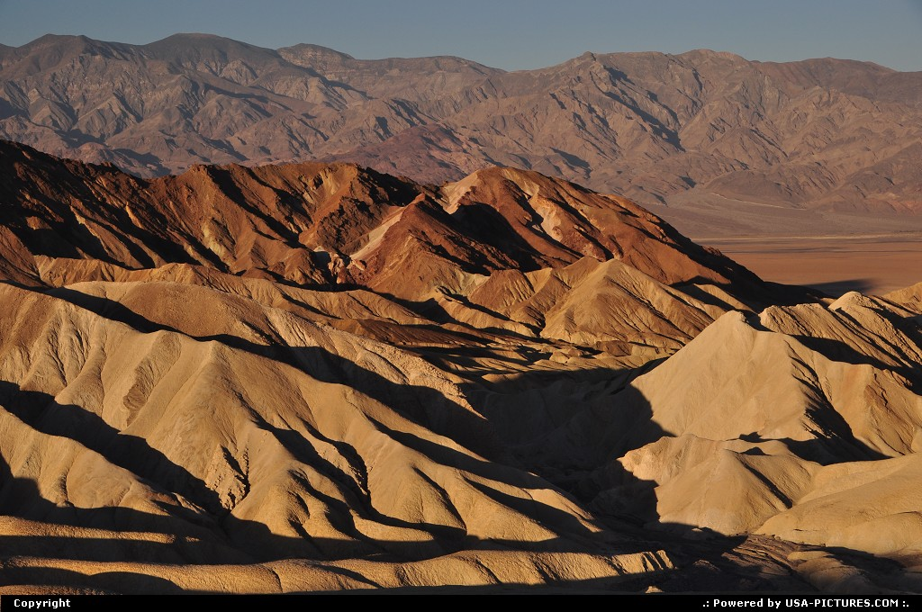 Picture by WestCoastSpirit:  California Death Valley Zabriskie Point Zabriskie, death vallley, nps