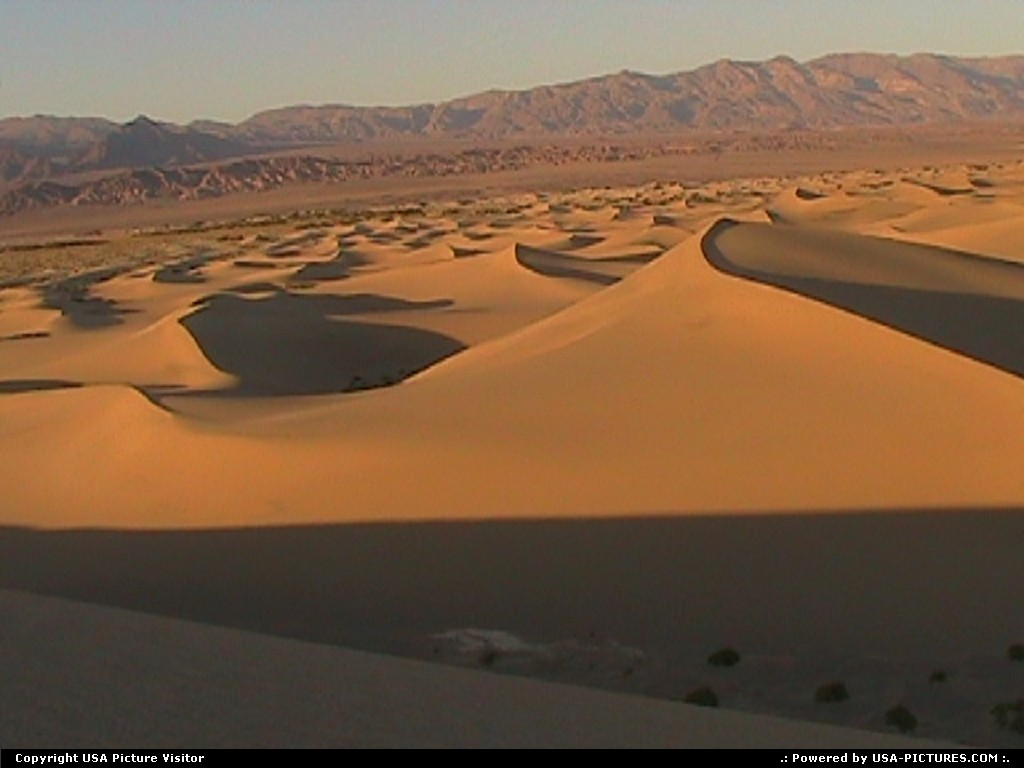 Picture by USA Picture Visitor:  California Death Valley  dune, sand, desert