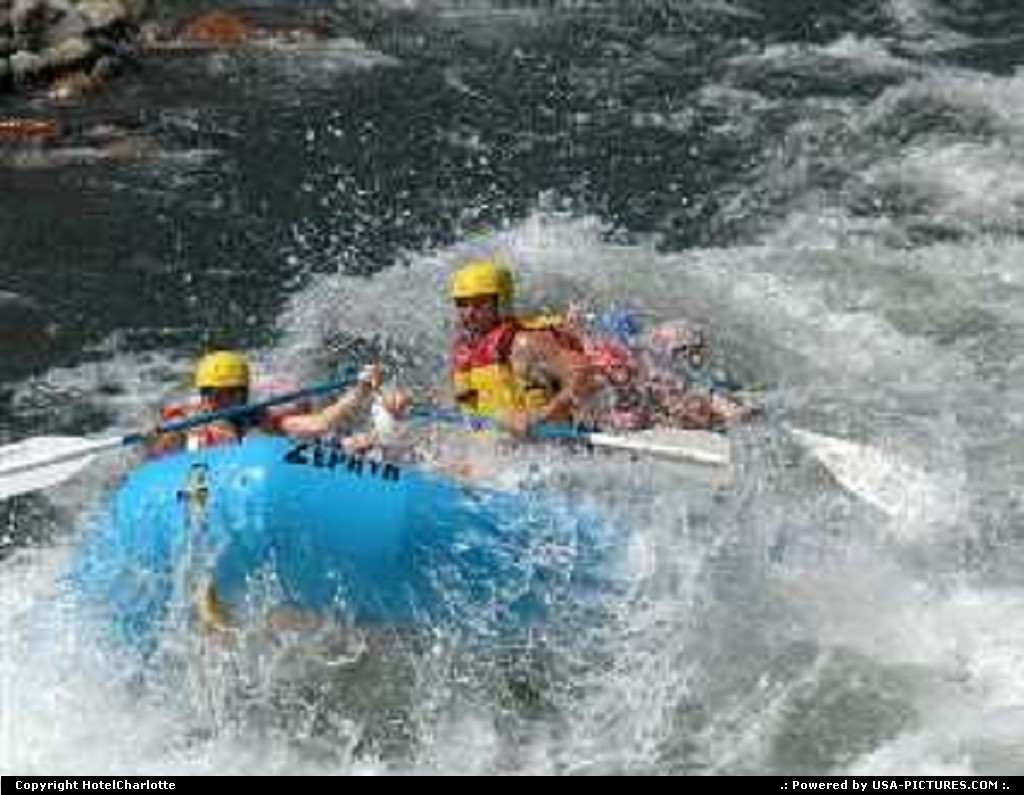 Picture by HotelCharlotte: Groveland California   whitewater