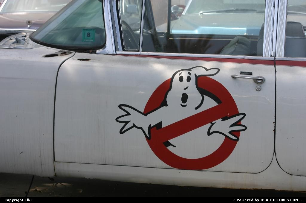 Picture by elki: Los Angeles California   car, ghostbuster