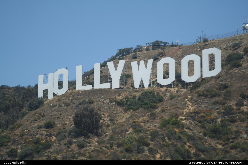Picture by elki:Los AngelesCaliforniahollywood sign