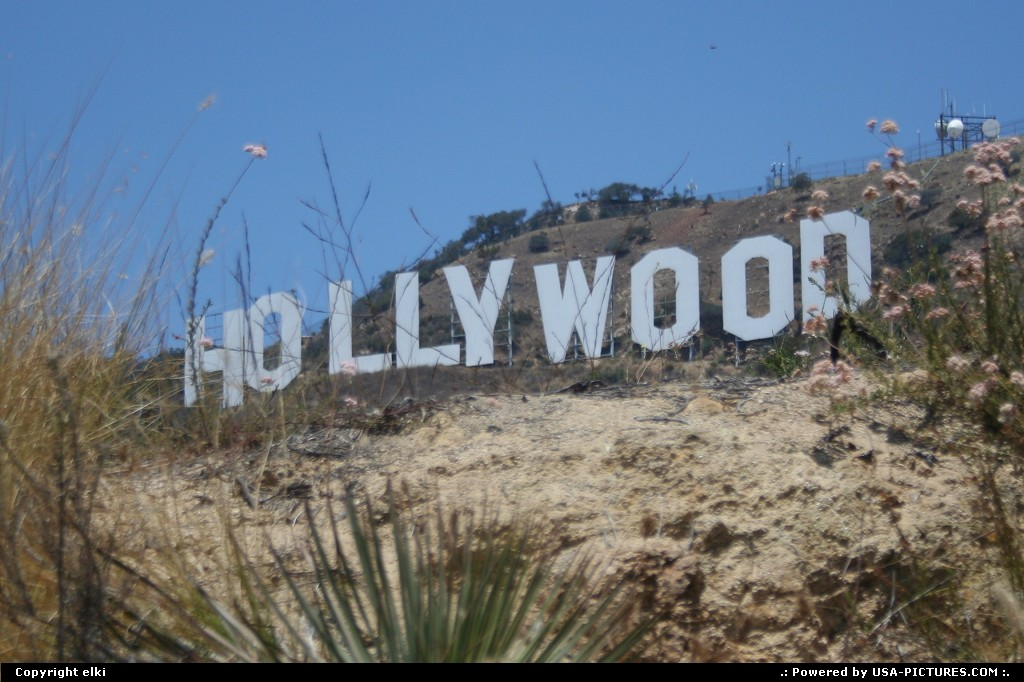 Picture by elki:Los AngelesCaliforniaHollywood