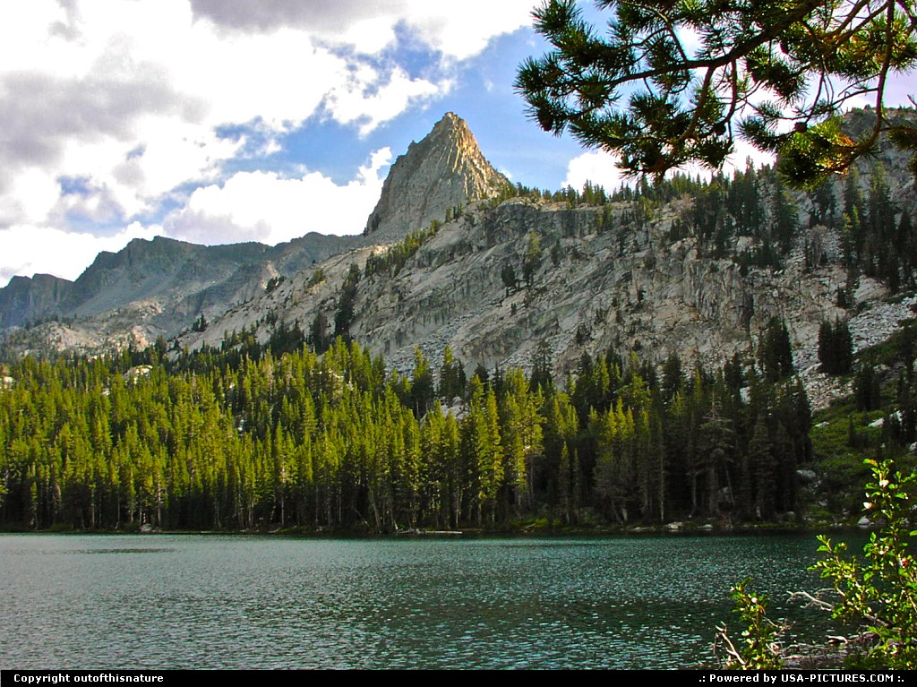 Picture by outofthisnature:Mammoth LakesCaliforniaLake George, Mammoth Lakes, Crystal Crag