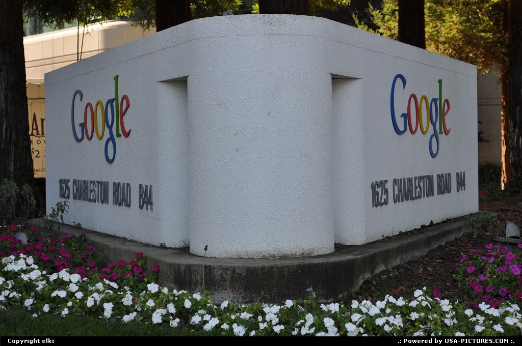 Picture by elki: Mountain View California   google, mountain view