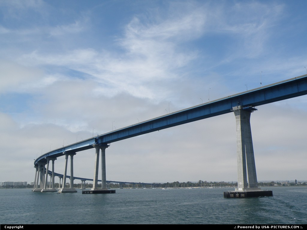 Picture by Bernie: San Diego California   bridge