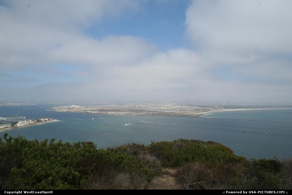 Picture by WestCoastSpirit: San Diego California   hill, mount, view, bay
